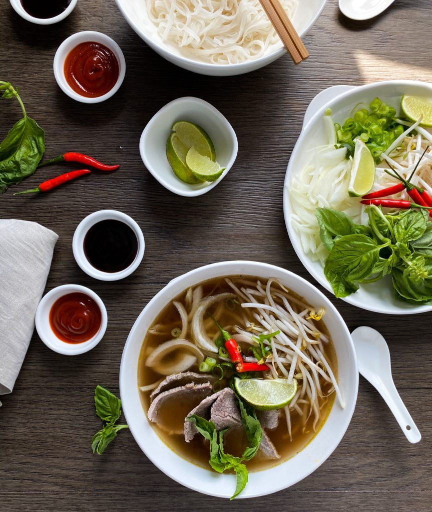 Quick Style Vietnamese Beef Noodle Pho