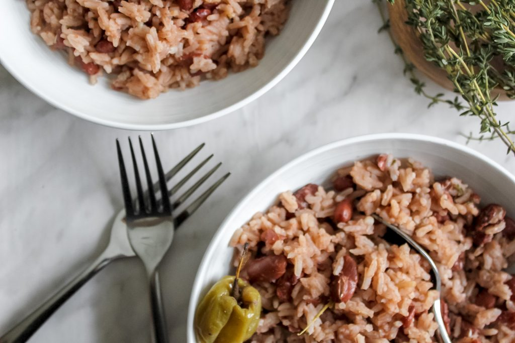 Jamaican Rice and Peas Bowls