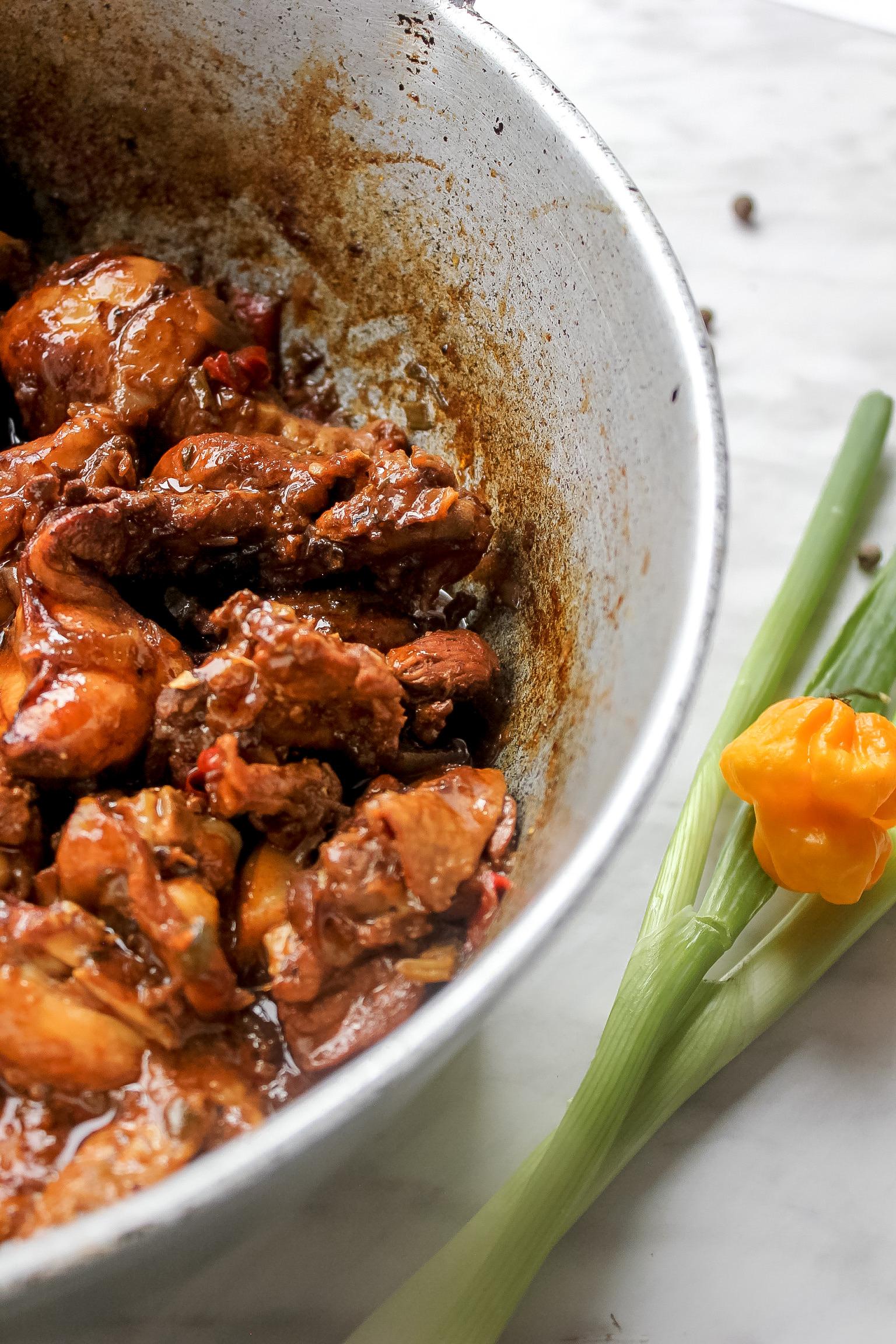 jamaican brown stew chicken  the seasoned skillet
