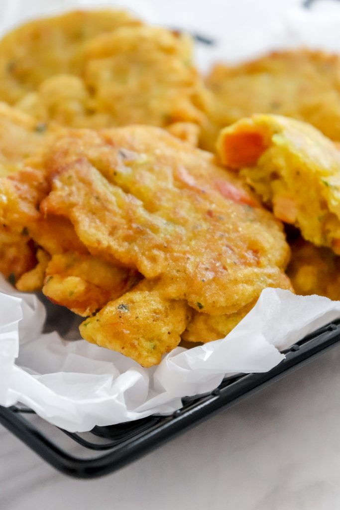 Jamaican Saltfish Fritters (Stamp & Go)