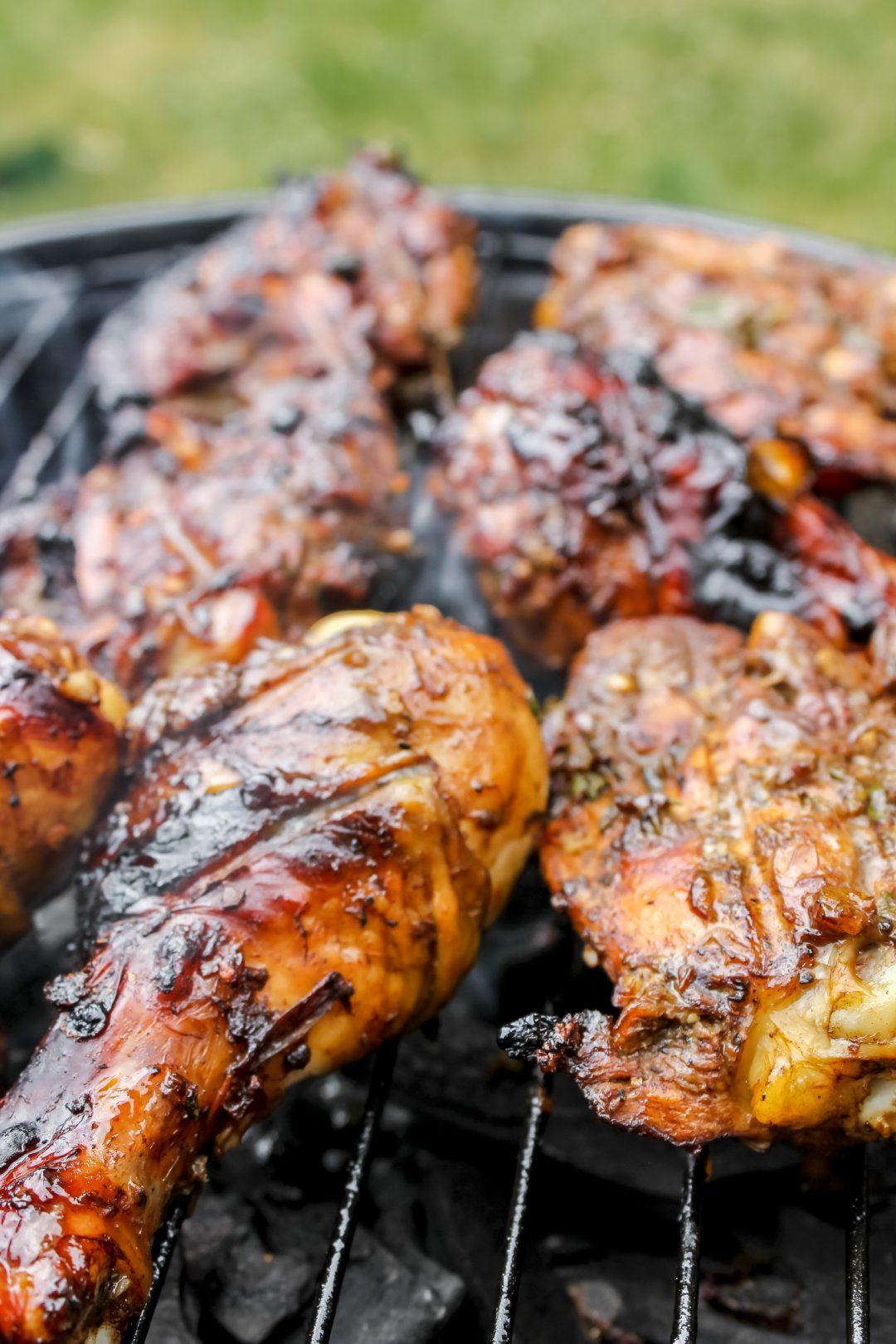 Quick & Easy Jamaican Jerk Chicken on Grill