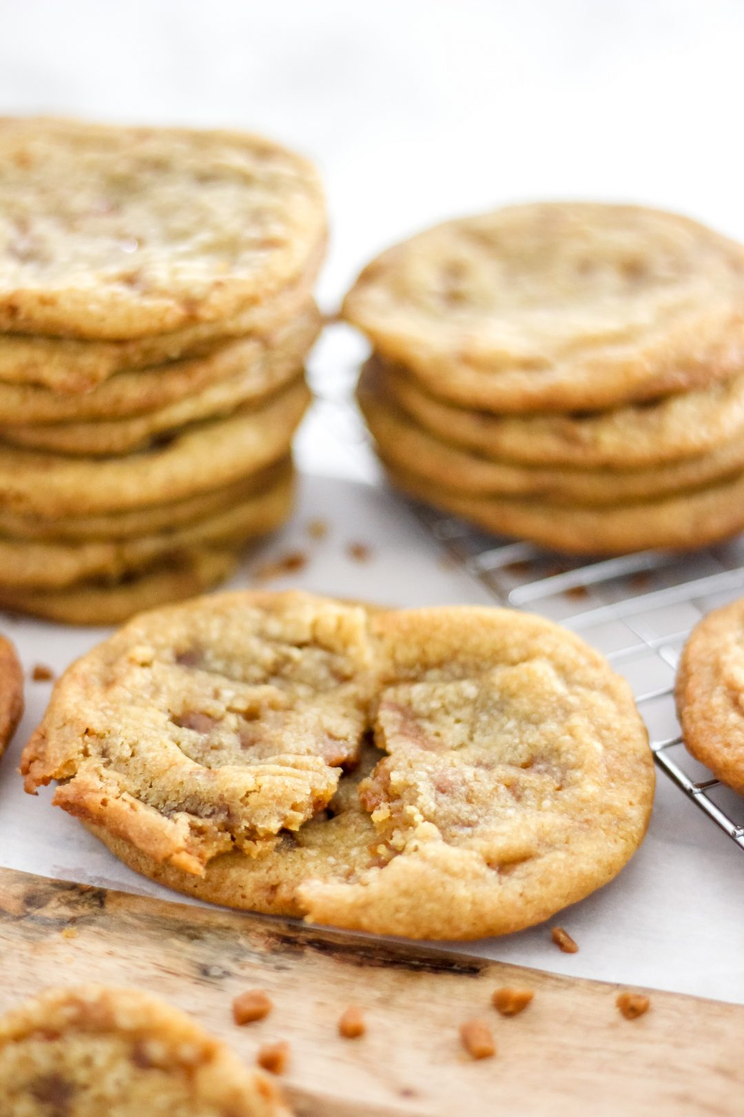 toffee cookies