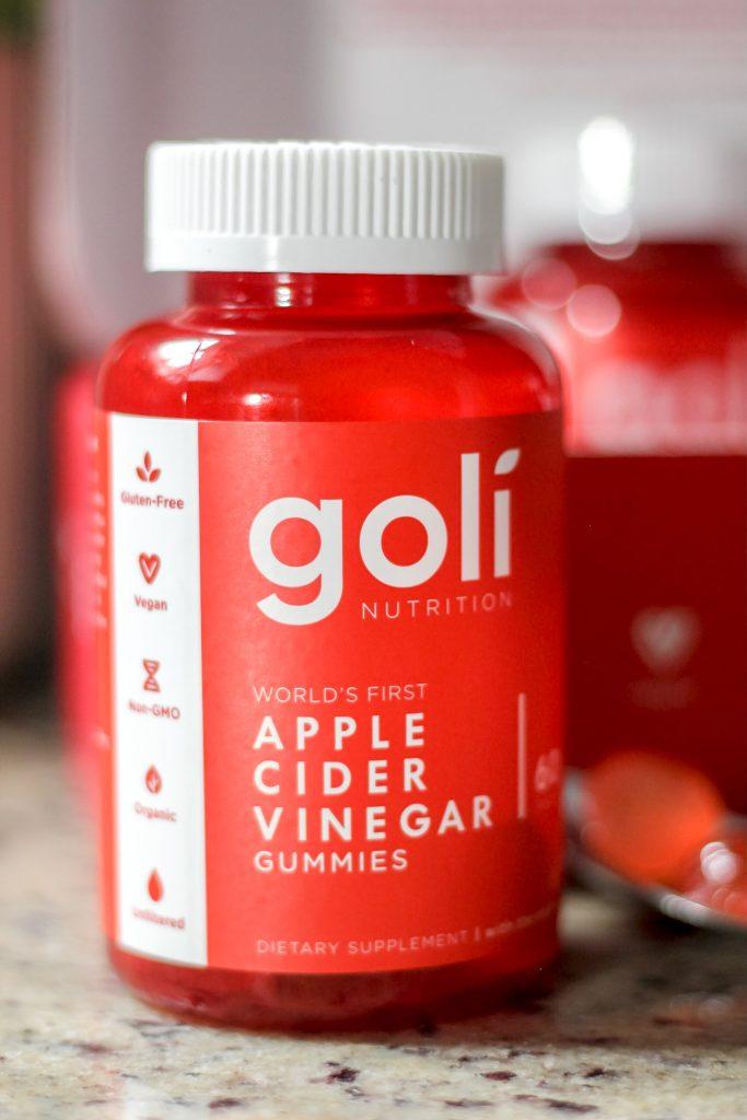 Goli Nutrition - Apple Cider Vinegar (ACV) Gummies Close Up