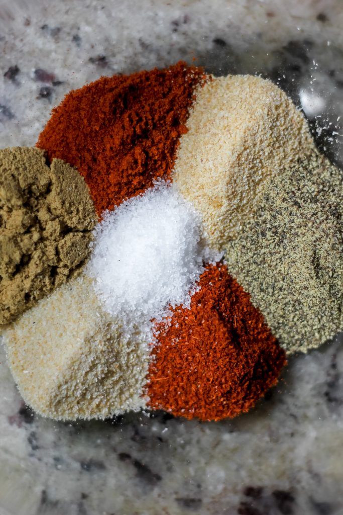 spices in a bowl