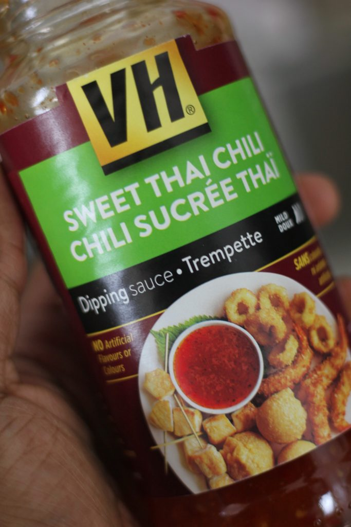 VH Sweet Thai Chili Sauce in Hand