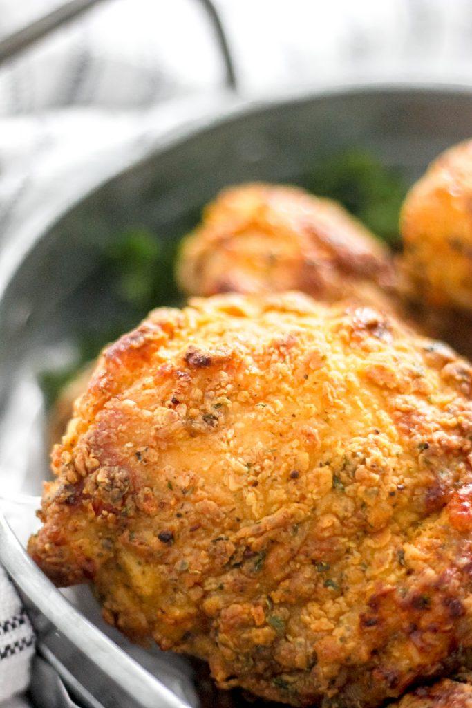 Crispy Air Fryer Fried Chicken Thigh