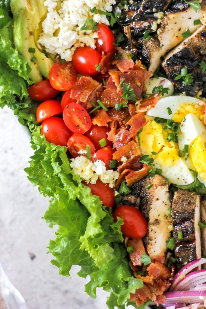 Jerk Chicken Cobb Salad