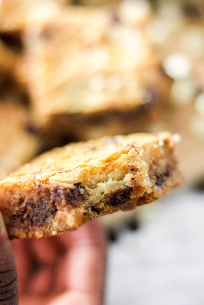 Easy White Chocolate Swirl Brownies_Bite Shot