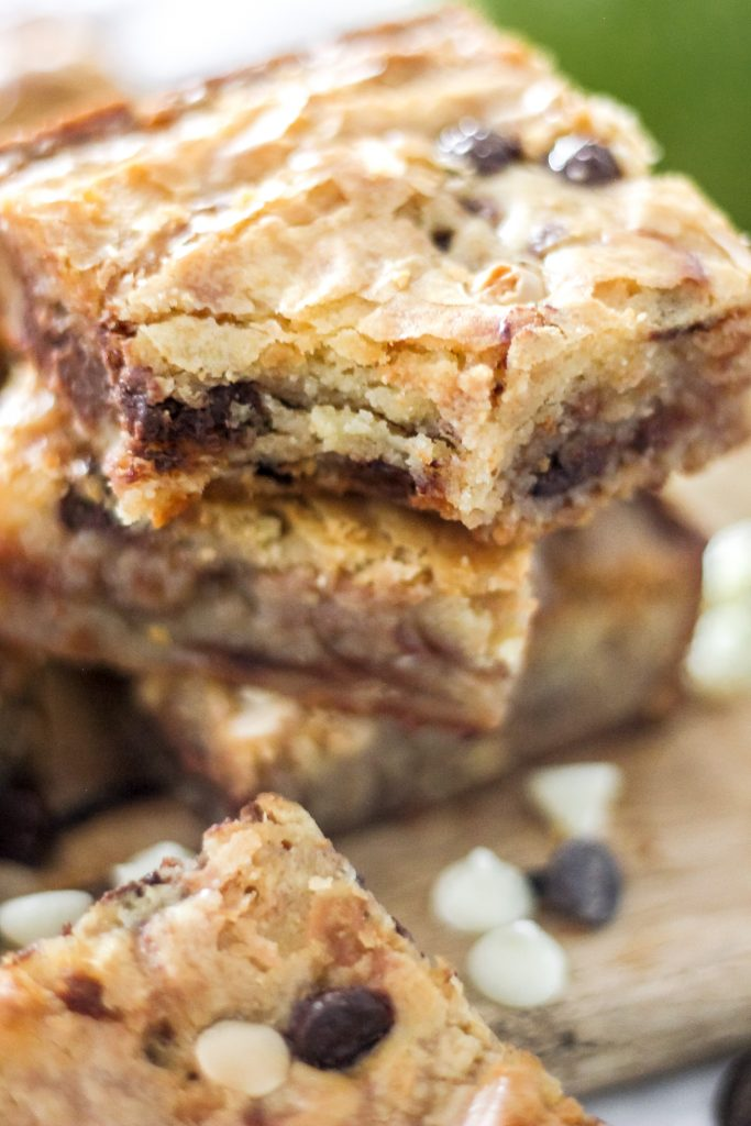 Easy White Chocolate Swirl Brownies_Featured Image I