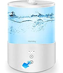 Homasy Cool Mist Humidifier and Essential Oil Diffuser