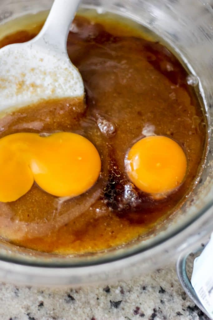 Sugars, Brown Butter, Eggs and Vanilla